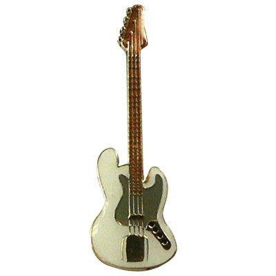 ジャズベース 白 ギター ミニピン  Jazz Bass guitar Mini Pin