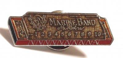 ホーナーハーモニカ マリンバンド 1896 ミニピン Harmonica Marine Band 1896 Mini Pin
