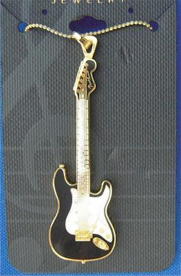 フェンダー ストラトキャスター ネックレス Fender Stratocaster Necklace 520 (黒)