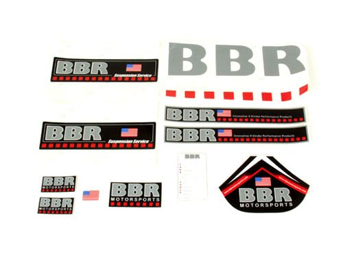 BBR Decal set デカール セット 11pc