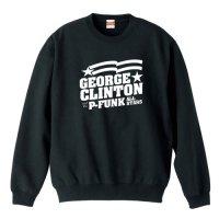 ジョージ・クリントン・アンド・ザ・P-ファンク・オールスターズ/ ロゴ −トレーナー(4色)