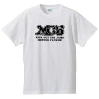 MC5 / LOGO (KICK OUT THE JAMS) (WHITE)