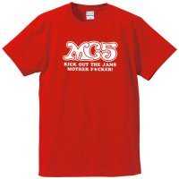 MC5 / LOGO (KICK OUT THE JAMS) (RED)
