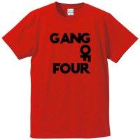 ギャング・オブ・フォー / LOGO (RED)