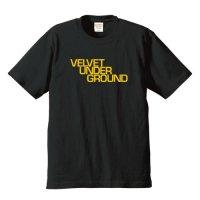 ヴェルヴェット・アンダーグラウンド / ロゴ (6.2オンス プレミアム Tシャツ 4色)
