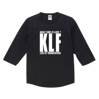 THE KLF / ホワット・タイム・イズ・ラブ? - ラグラン七分袖 (4色)<img class='new_mark_img2' src='https://img.shop-pro.jp/img/new/icons1.gif' style='border:none;display:inline;margin:0px;padding:0px;width:auto;' />