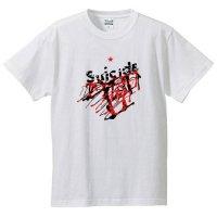 スーサイド / ロゴ (WHITE)