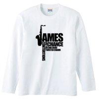ジェームス・チャンス / ロゴ - ロンT (4色)