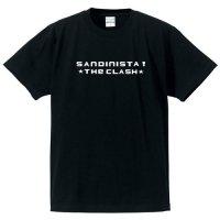 ザ・クラッシュ / サンディニスタ! ロゴ(BLACK print WHITE)