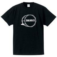 ジ・アニマルズ / ドラム・ロゴ  (BLACK)