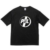 PIL / ロゴ (ビッグシルエットTシャツ 2色)