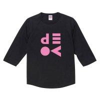 ディーヴォ / ロゴ 2 - ラグラン七分袖 (4色)