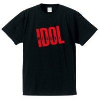 ビリー・アイドル / ロゴ(BLACK print RED)