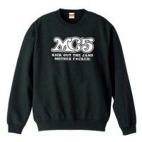 MC5 / ロゴ (キック・アウト・ザ・ジャムズ) −トレーナー(4色)