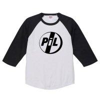 PIL / ロゴ - ラグラン七分袖 (4色)
