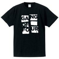 ギャング・オブ・フォー / ポスター・ロゴ (BLACK)
