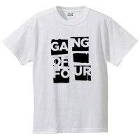ギャング・オブ・フォー / ポスター・ロゴ (WHITE)