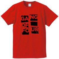 ギャング・オブ・フォー / ポスター・ロゴ (RED)