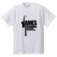 ジェイムス・チャンス / LOGO (WHITE)
