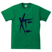 XTC / FACE LOGO (GREEN)