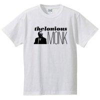 セロニアス・モンク / ロゴ&フェイス (WHITE)