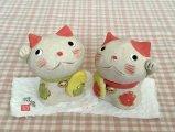 ひろ陶房 招福招き猫