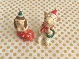 セルバクリスマス ヒツジ&ハリネズミ