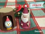 【Decole(デコレ)】concombre スティックマスコット 森のサンタ
