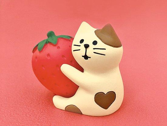 【Decole(デコレ)】concombre いちごチョコフォンデュ&いちごLOVE猫