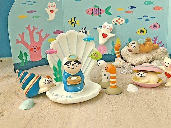 【Decole(デコレ)】concombre 海女さん猫