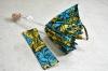 アフリカンバティックの傘 47� 折畳み