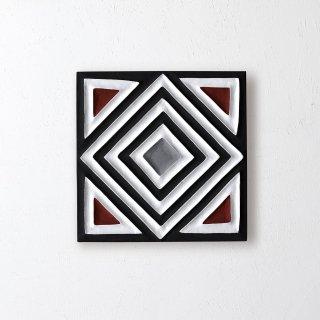 ご予約品 入荷後の発送です 送料無料【ルワンダ】ARTイミゴンゴ「S:ダイヤ」