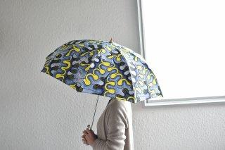 送料無料 晴雨兼用 アフリカンバティックの傘「折畳47� 20014」