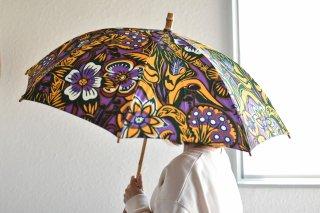 送料無料 晴雨兼用 アフリカンバティックの傘「50� 20061」