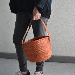 【ケニア】サイザルワンハンドルバッグ「Sep09-5」