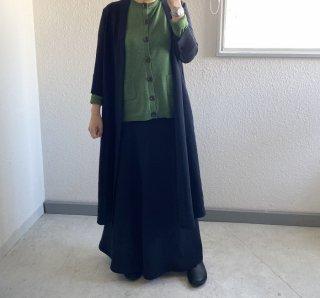 完売●長身女性へ【数量限定】RuiseB オリジナル フィット 巻きスカート(Long type ブラック)