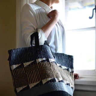 【ケニア】ベーシックバッグ ショートハンドル「Gray」