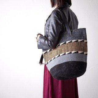 【ケニア】ベーシックバッグ ショルダー「Gray」