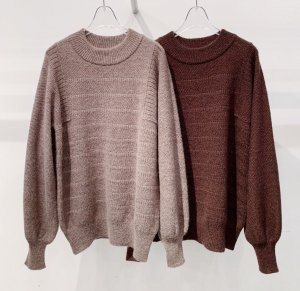 <img class='new_mark_img1' src='https://img.shop-pro.jp/img/new/icons16.gif' style='border:none;display:inline;margin:0px;padding:0px;width:auto;' />OTOAA wool mohair big sleeve knit