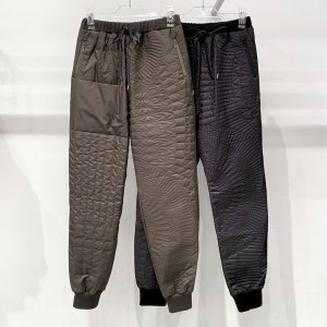<img class='new_mark_img1' src='https://img.shop-pro.jp/img/new/icons14.gif' style='border:none;display:inline;margin:0px;padding:0px;width:auto;' />bedsidedrama Himmeli Quilt Pants