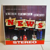 REAL BAD NEWS / BLACK AND WHITE AND RED ALL OVER / LP