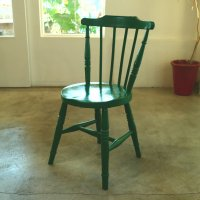 40's UK Painted Chair