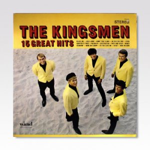 KINGSMEN / 15 GREAT HITS / LP