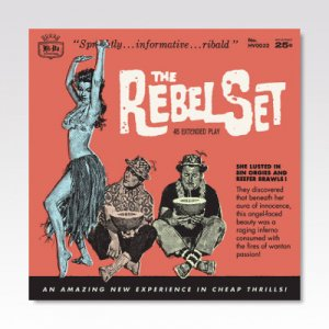REBEL SET / 4 SONG EP / 7
