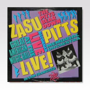 ZASU PITTS MEMORIALORCHESTRA / GREATEST HITS VOL.1 / 12