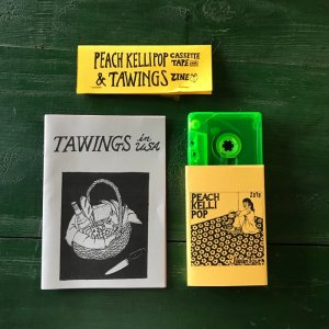 Peach Kelli Pop : TAWINGS / CASSETTE TAPE & ZINE