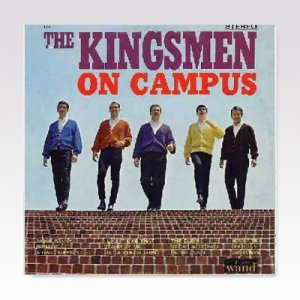 KINGSMEN / On Campus / LP [USED]