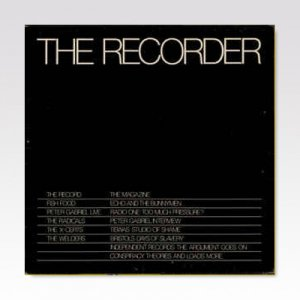 VA / THE RECORDER / LP [USED]