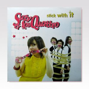 SUZY & LOS QUATRO / STICK WITH IT / LP