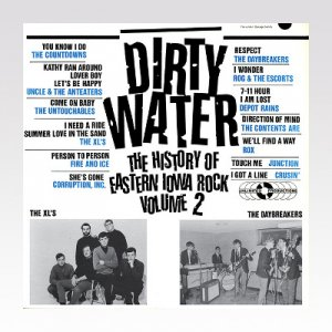 VA / Dirty Water: The History Of Eastern Iowa Rock Volume 2 / LP[USED]